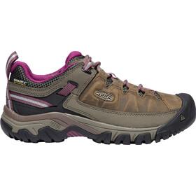 Keen Targhee III WP Shoes Damen weiß/boysenberry